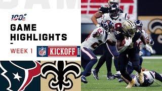 Texans vs. Saints Week 1 Highlights | NFL 2019