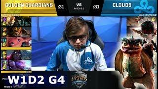 Video Golden Guardians vs Cloud 9 | Week 1 Day 2 of S8 NA LCS Spring 2018 | GGS vs C9 W1D2 G4 MP3, 3GP, MP4, WEBM, AVI, FLV Juni 2018