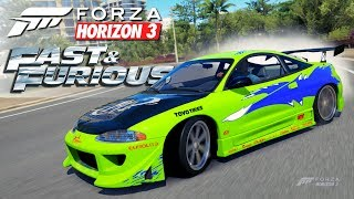 Nonton Forza Horizon 3 - Fast and Furious | Mitsubishi Eclipse GSX Film Subtitle Indonesia Streaming Movie Download