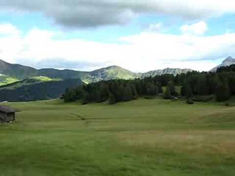 Wandern auf der Seiser Alm