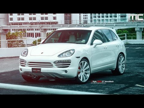 MC Customs | Vellano Wheels Porsche Cayenne S