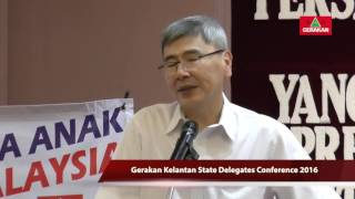 Gerakan Will Never Stop Striving - Economy (C)为经济,民政党不曾停歇