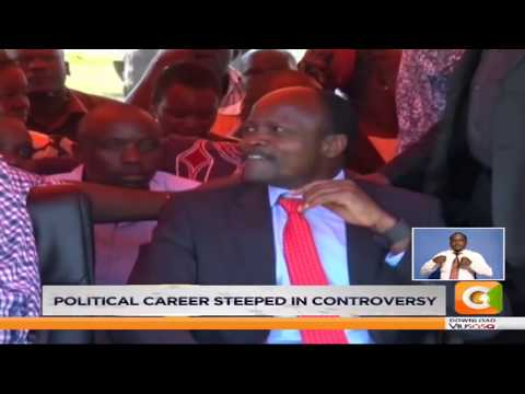 Obado's political career steeped in controversy #MondaySpecial