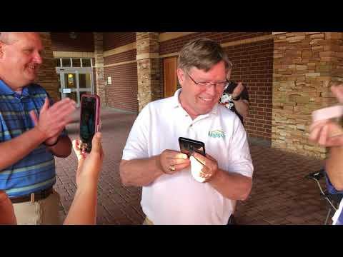 Video: Mayor Pat Shull notifies $56,000 Porsche raffle winner