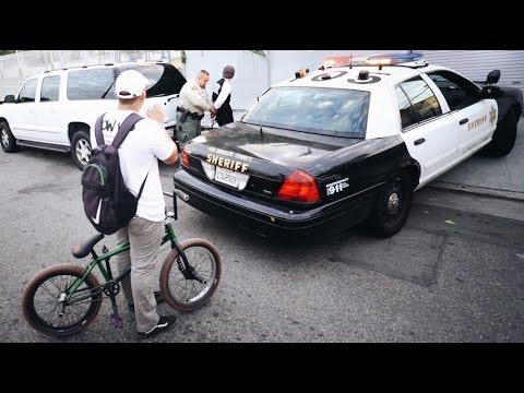 BMX vs COPS (видео)