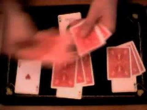 Truco de magia: Los 4 ases
