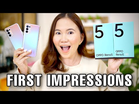 OPPO RENO 5 & 5 5G UNBOXING AND FIRST IMPRESSIONS