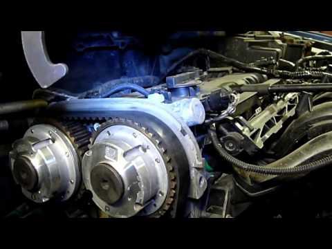 как поменять ремни грм на форд фокус 2