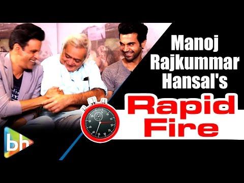 Aligarh Stars Manoj Bajpai | Rajkummar Rao | Hansa