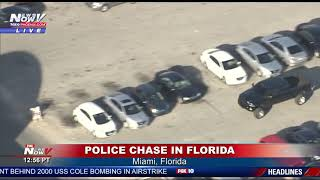 Video FULL POLICE CHASE: High Speed Chase In Miami, Florida MP3, 3GP, MP4, WEBM, AVI, FLV Januari 2019
