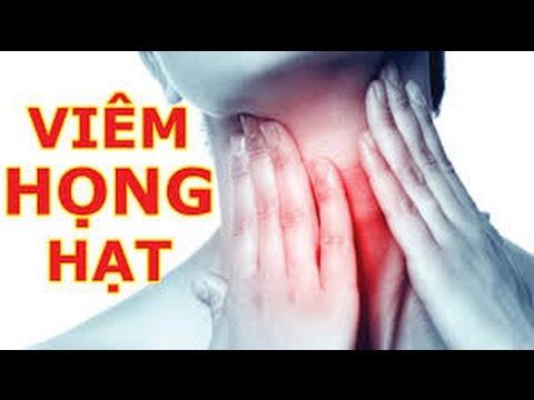 Phương pháp Chữa Viêm Họng - viêm amidan hiệu quả ngay từ lần dùng đầu tiên