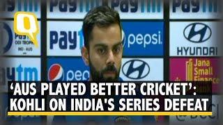 Virat Kohli Speaks After India Lose ODI Series vs Australia | The Quint