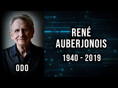 DS9 loses another, Odo. [RIP Rene]