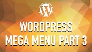 How to Create a WordPress Mega Menu from Scratch - Part 3Download APWS: https://github.com/Alecaddd/awpsDownload Walker Nav Class: https://github.com/Alecaddd/WordPress-MegaMenu:: Become a Patreon ::https://www.patreon.com/alecaddd:: Join the Forum ::https://forum.alecaddd.com/:: Support Me ::http://www.alecaddd.com/support-me/http://amzn.to/2pKvVWO:: Tutorial Series ::WordPress 101 - Create a theme from scratch: http://bit.ly/1RVHRLjWordPress Premium Theme Development: http://bit.ly/1UM80mRLearn SASS from Scratch: http://bit.ly/220yzmZDesign Factory: http://bit.ly/1X7CsazAffinity Designer: http://bit.ly/1X7CrDA:: My Website ::http://www.alecaddd.com/:: Follow me on ::Twitter: https://twitter.com/alecadddGoogle+: http://bit.ly/1Y7sunzFacebook: https://www.facebook.com/alecadddpage