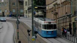 Gothenburg Sweden  City new picture : Trams in Gothenburg Sweden. Straßenbahn Göteborg Schweden 2011