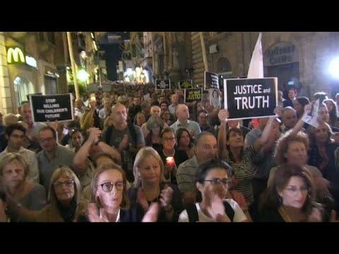Ένας χρόνος από τη δολοφονία της Ντάφνι Καρουάνα Γκαλίθια…