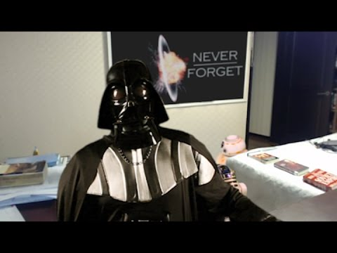 Droids Interrupt Darth Vader Interview Parody of Children Interrupt BBC