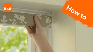 Video How to put up a roller blind MP3, 3GP, MP4, WEBM, AVI, FLV Oktober 2018