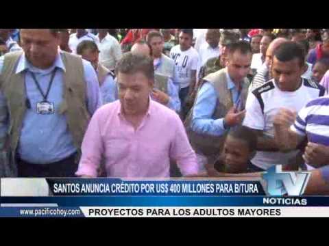 Santos anuncia millonario crédito para Buenaventura #TVNoticias