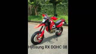 2. Hyosung RX 125 DOHC 08 - before & after