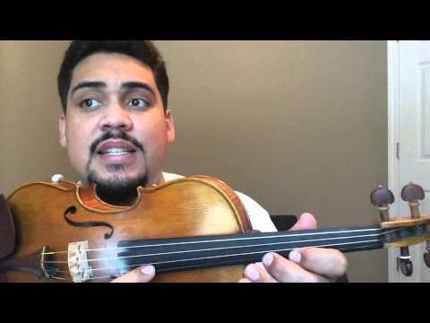 """Como Tocar Violin """"Las Mananitas"""" Pt.1"""
