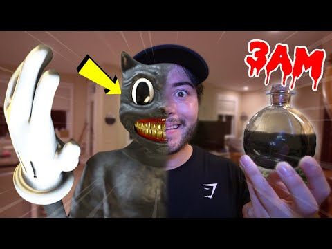 ORDERING CARTOON CAT POTION FROM THE DARK WEB AT 3AM!! *HE CAME TO OUR HOUSE*