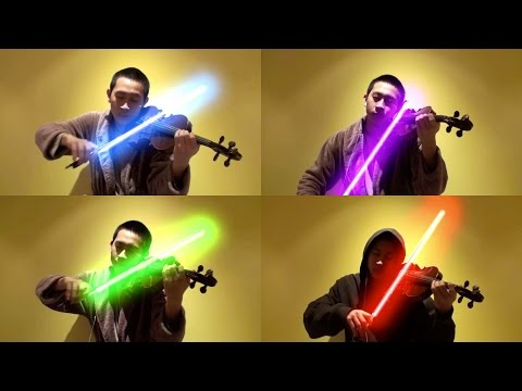 VIDEO: High school violinist wows with lightsaber rendition of Star Wars' 'Force Theme'