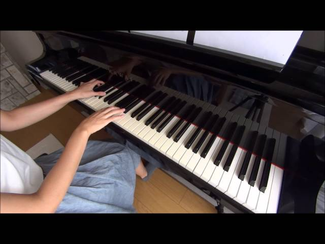 楽譜付き!童謡「赤とんぼ」のピアノを弾いてみた!