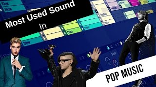 Most Used Sound In Pop Music 2016