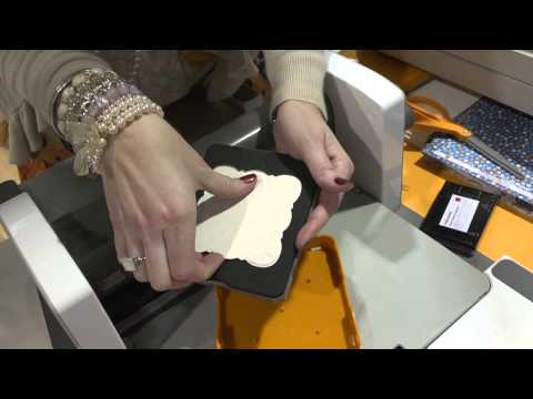 Demo of the New Fiskars Fuse Creativity System at CHA 2013