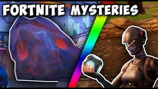 What Happens When You Throw A Port-A-Fort On The Meteor At Dusty Divot!? || Fortnite Mysteries