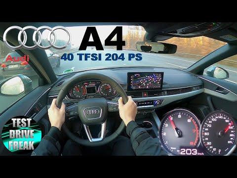 2020 Audi A4 40 TFSI Avant MHEV 204 PS TOP SPEED AUTOBAHN DRIVE POV