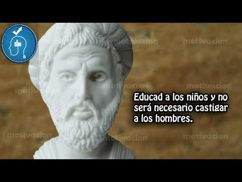 10 Frases celebres de Pitágoras de Samos