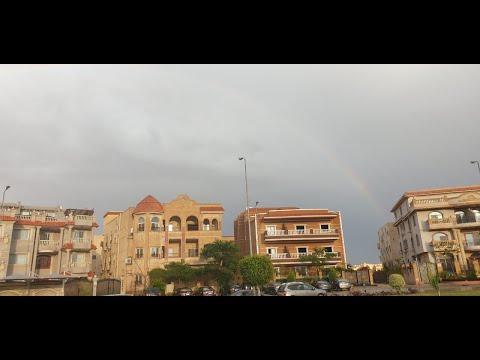 شاهد| ثلوج وعواصف وسيول لم تشهدها القاهرة منذ زمن