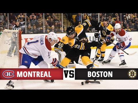 Montreal Canadiens vs Boston Bruins | Season Game 58 | Highlights (12/2/17)