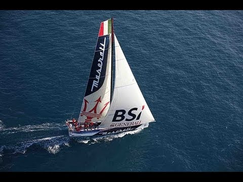 Giovanni Soldini & Maserati take on the 'NY - SF Sailing Speed Record'!