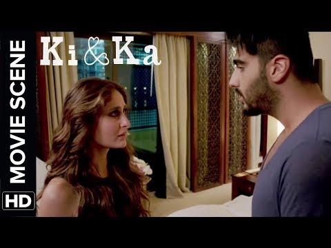 Kareena is frustrated cause of Arjun | Ki & Ka | Movie Scene