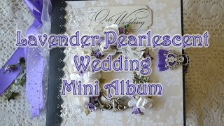 In today's video, I show my newest creation which happens to be a gift for my niece, Kierra, and her soon to be husband Benjamin. Congratulations to the two of you! This mini album was created using the Paper Studio Blanc Boutique: Pearl paper pack from Hobby Lobby. Here is a list of cut-outs used:- Spellbinders Shapeabilities: Fantastic Flourish Two- Spellbinders Nestabilities: Gold Majesty Circles- Spellbinders Nestabilities: Labels 45 Decorative Accents- Heartfelt Creations: Regal Borders and Pockets- Heartfelt Creations: Ornate Borders and Pockets- Heartfelt Creations: Decorative Blossom CornerThank you for watching and subscribe for future videos!