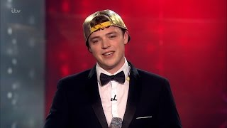Craig Ball with his novelty singing act on Britain's Got Talent 2016, Final.