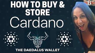 Store Cardano ADA with Daedalus Wallet Tutorial