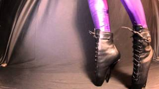 Ballet Heels 11 - Ballet Boots And Leggings