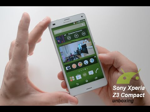 Sony Xperia Z3 Compact unboxing