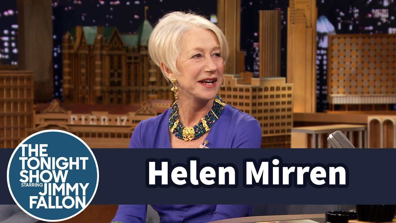 Helen Mirren on Manspreading