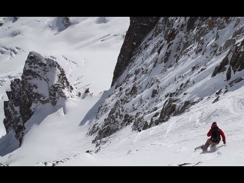 SKI - Most seasons, the Col du Diable's Macho Couloir (5.2, TD) is 350 meters of 45 to 50, marginal, shark-infested snow - perhaps with some ice thrown in - befor...