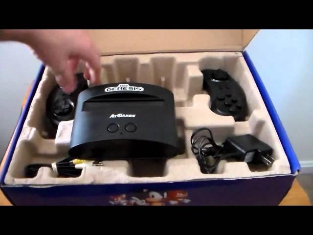 Sega-genesis-classic-game-console