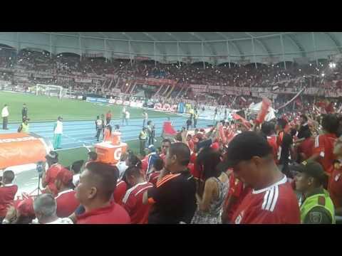 Salida america de cali vs tigres fc - Baron Rojo Sur - América de Cáli