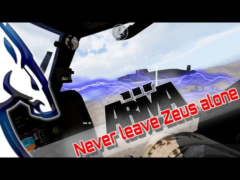 Arma III: Don't leave Zeus alone видео