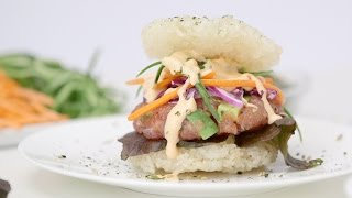 How to Make Sushi Burgers | Eat the Trend by POPSUGAR Girls' Guide
