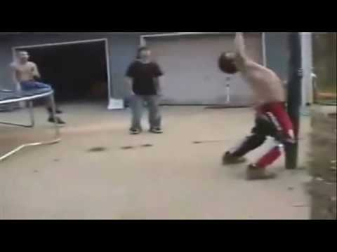 Funny Trampoline/Basketball Accidents