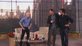 Video Hugh Jackman's Twin Works at 'Anderson' MP3, 3GP, MP4, WEBM, AVI, FLV Maret 2018